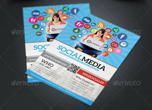 Social Media Template Psd Awesome 14 Great social Media Flyer Templates Psd & Indesign