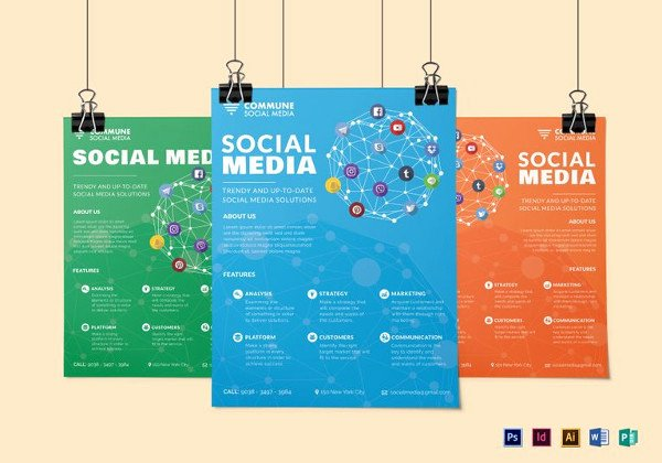 Social Media Template Psd Beautiful 21 social Media Flyers In Word Psd Ai Eps format