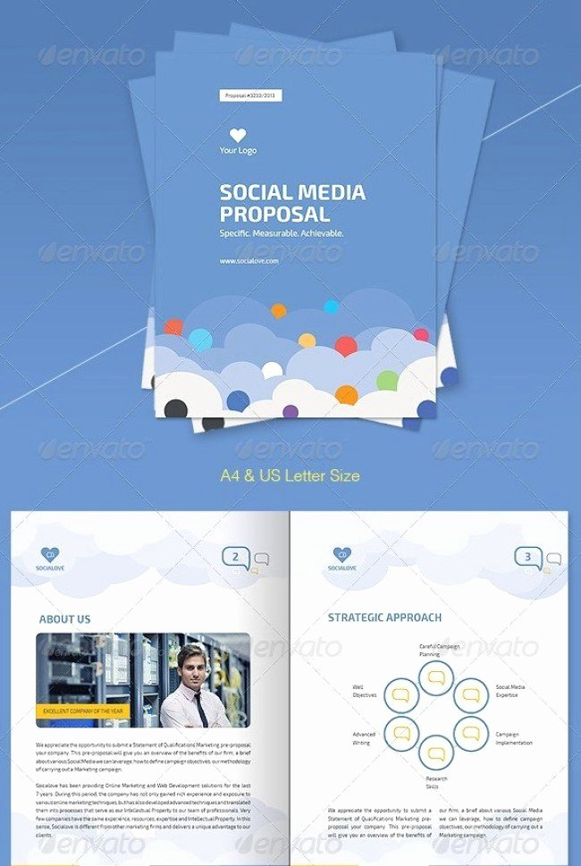 Social Media Template Psd Beautiful 48 Best Business Proposal Templates In Indesign Psd & Ms