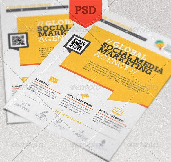 Social Media Template Psd Best Of Free social Media Flyers Psd Posters Latest Marketing