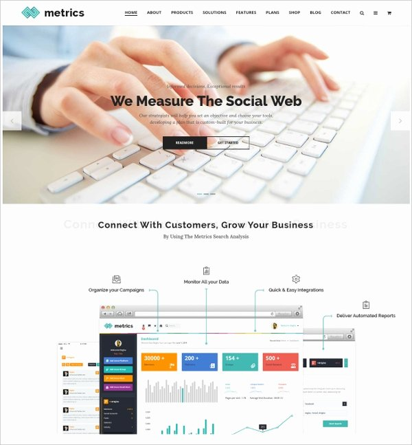 Social Media Website Template Best Of 7 social Media Website themes & Templates