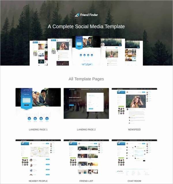 Social Network Website Template Elegant 15 social Network Bootstrap themes & Templates