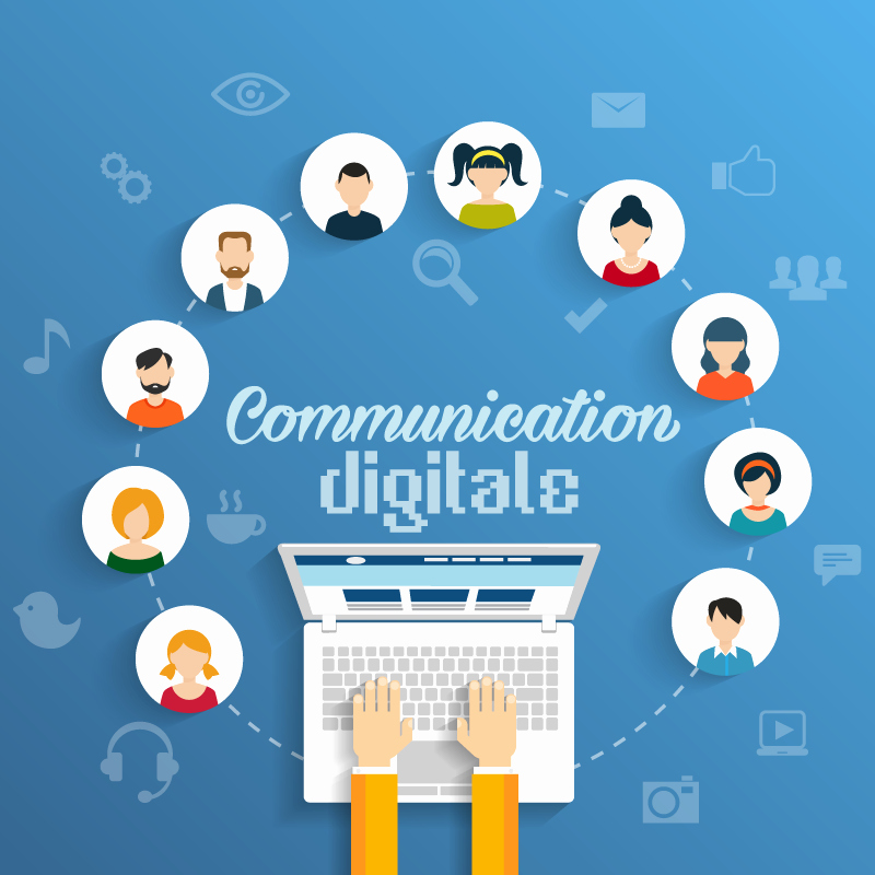 Social Networking Web Template Fresh La Munication Digitale Kézako isme