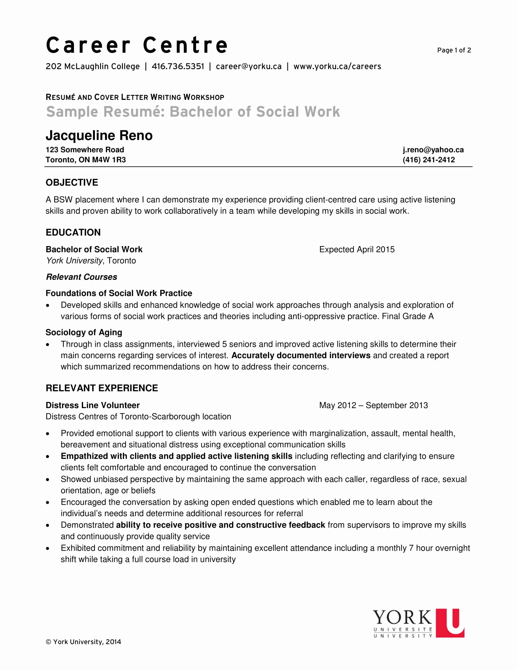 Social Worker Resume Template Best Of 14 Best social Worker Resume Sample Templates Wisestep