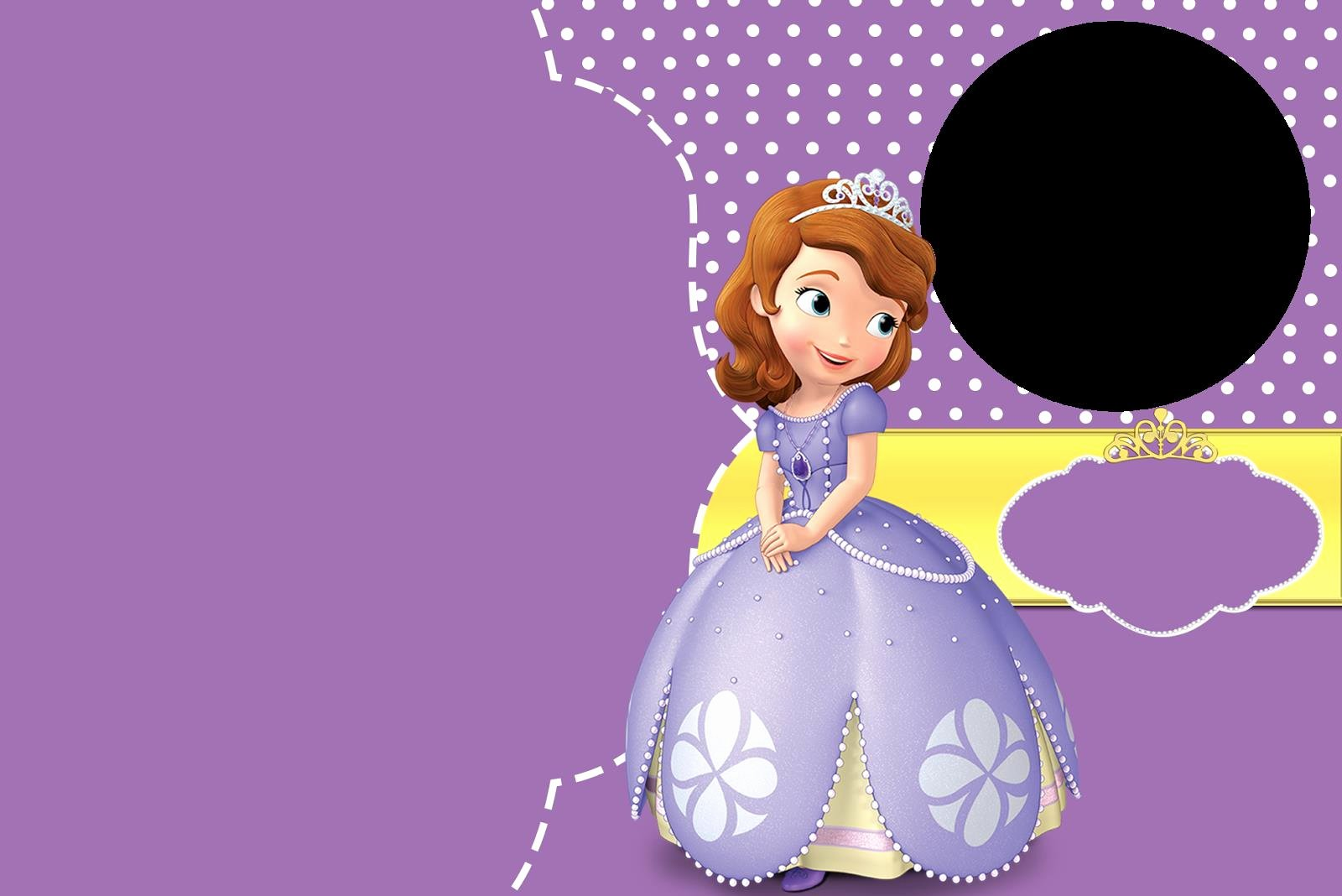 Sofia the First Template New sofia the First Birthday Background – Best Happy Birthday