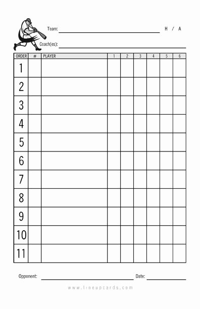 Softball Lineup Cards Template Lovely 17 Best Images About Targets On Pinterest