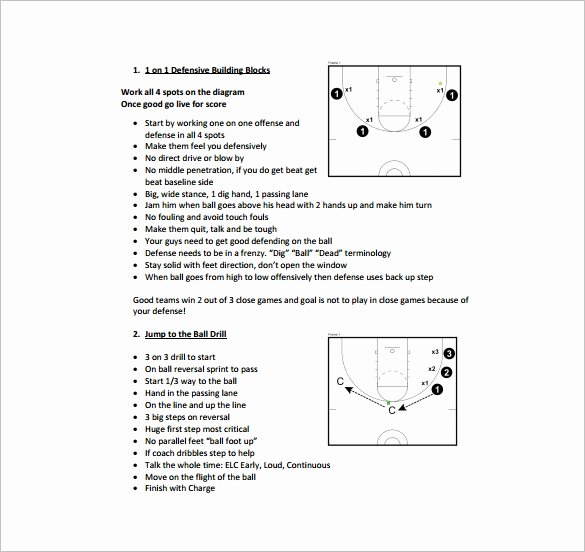 Softball Practice Plan Template Unique Basketball Practice Plan Template 3 Free Word Pdf