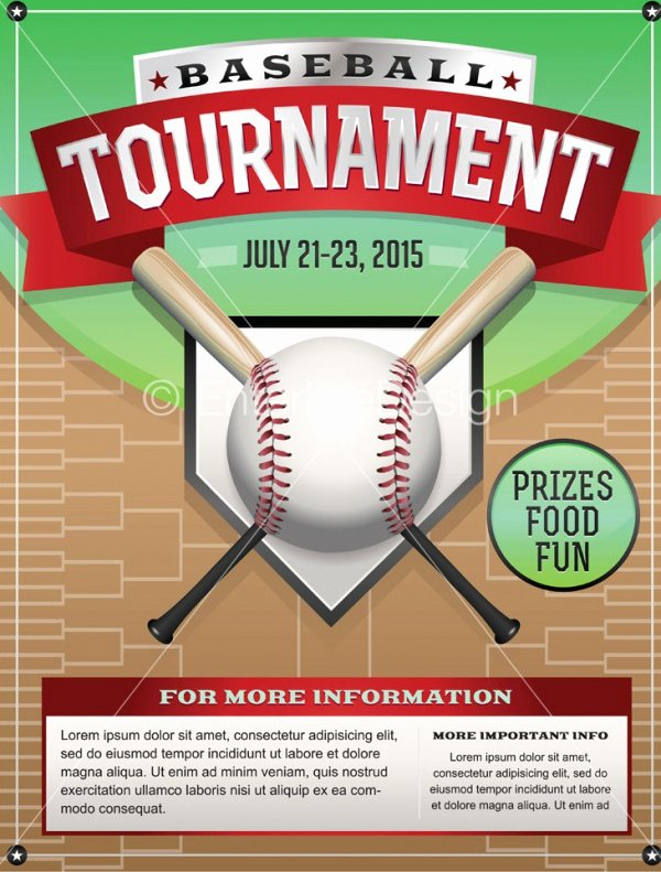 Softball tournament Flyer Template Beautiful Girls softball Fundraiser Flyer Template Free softball