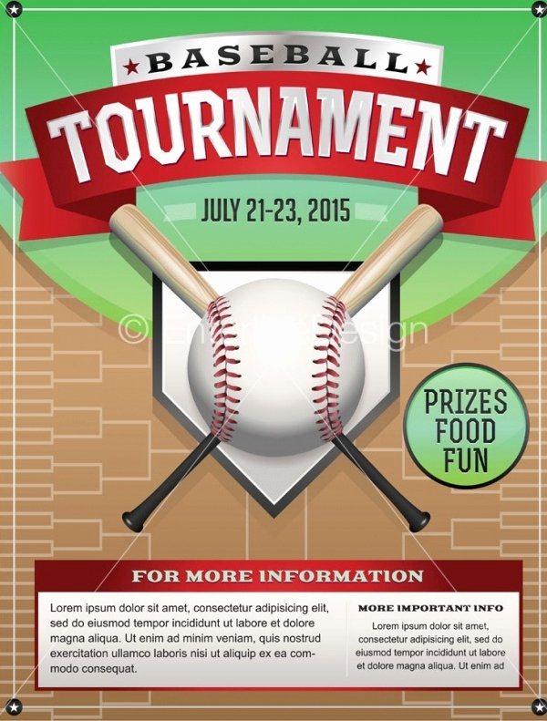Softball tournament Flyer Template Elegant 26 Amazing Baseball Flyer Templates Psd Ai Docs Pages