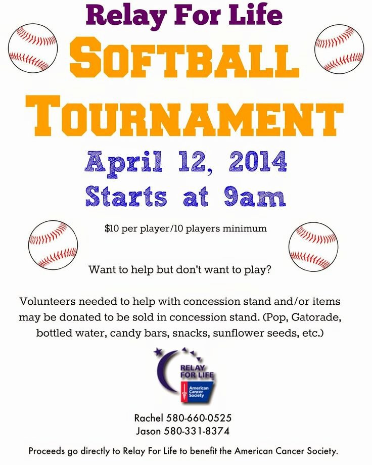Softball tournament Flyer Template Inspirational 9 Best Images About Fundraising Ideas On Pinterest