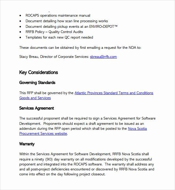 Software Development Proposal Template Elegant software Development Proposal Template Free Henrycmartin