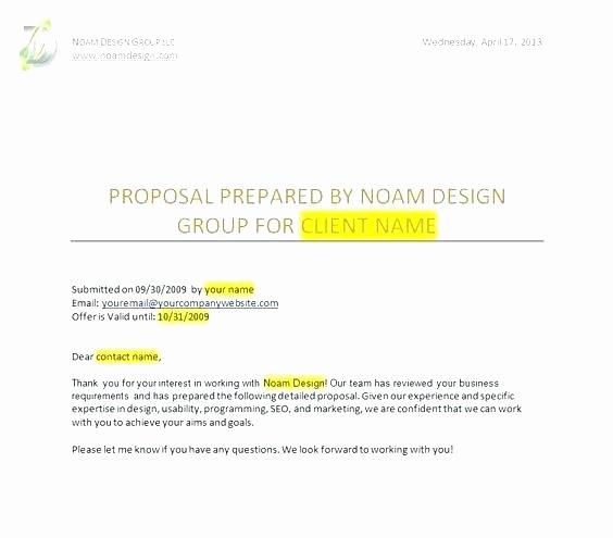 Software Development Proposal Template Inspirational Development Proposal Template Web Development Proposal