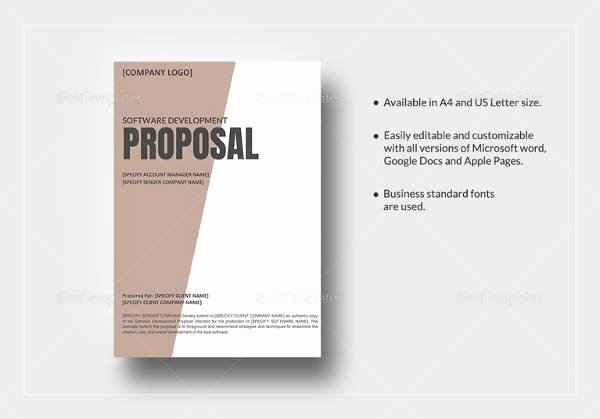 Software Development Proposal Template New 13 software Development Proposal Templates to Download