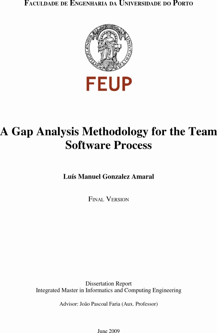 Software Gap Analysis Template Awesome 4 software Gap Analysis Templates Free Download