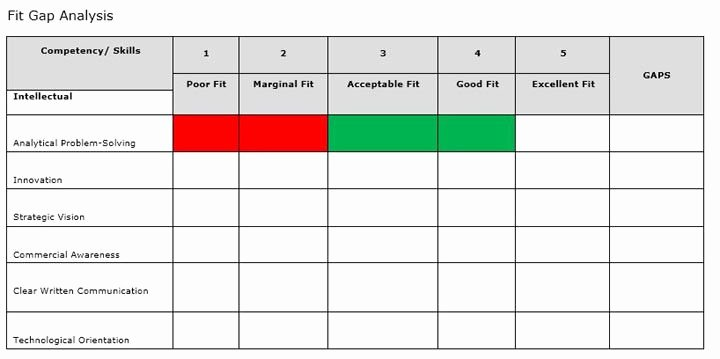Software Gap Analysis Template Lovely 10 Fit Gap Analysis Template Excel – Spreadsheet Report