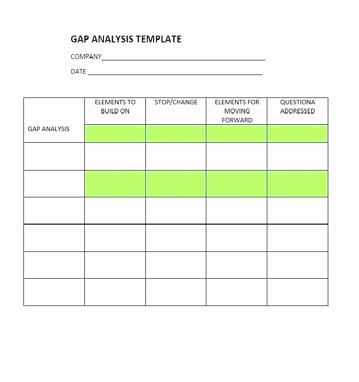Software Gap Analysis Template Unique 9 Product Gap Analysis Examples Pdf