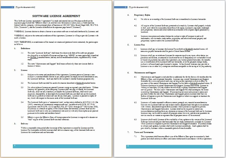 Software License Agreement Template Best Of 21 Best Images About Health forms On Pinterest