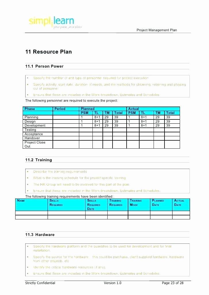 Software Project Plan Template Unique software Development Project Plan Template Excel