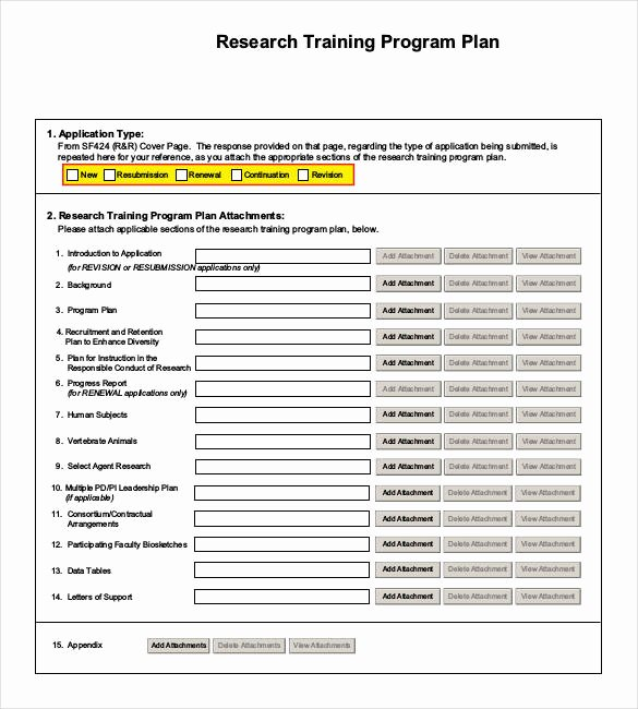 Software Training Plan Template Fresh 25 Training Plan Templates Doc Pdf