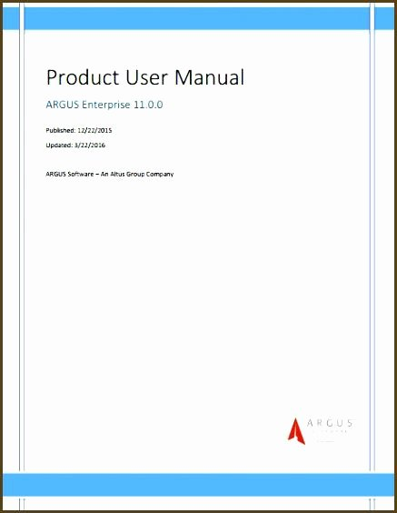 Software User Manual Template Awesome Free User Manual Template Word Standard Operating