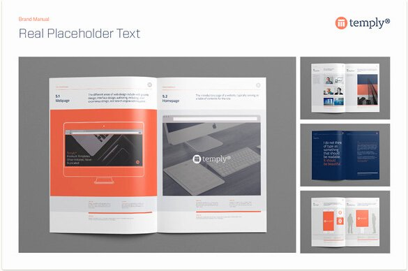 Software User Manual Template Inspirational 10 Professional Brand Manual Templates to Promote Brand