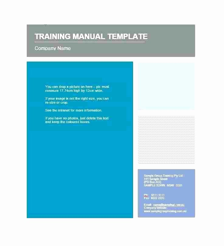 Software User Manual Template Lovely Safe Working Instruction Template Free Ms Word format