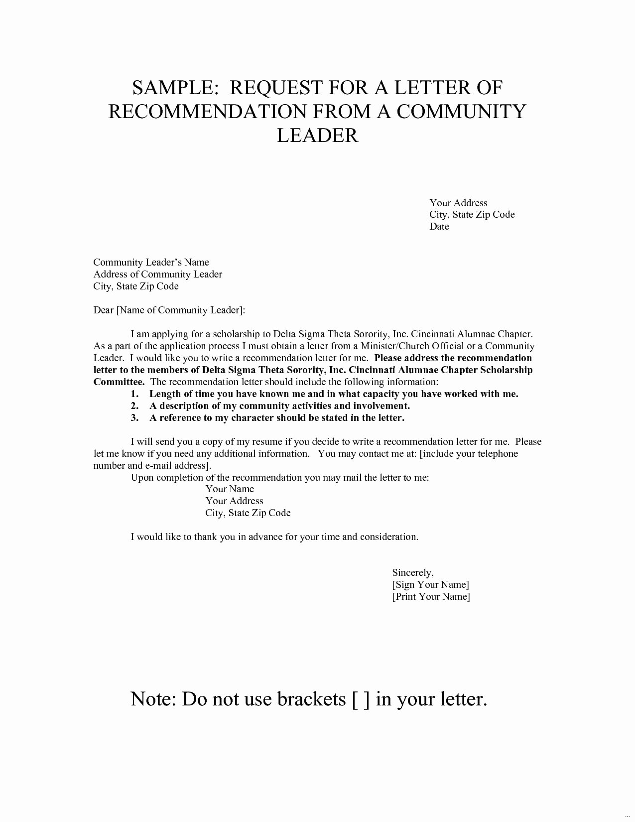 Sorority Recommendation Letter Template Awesome How to Write A Thank You Letter for sorority