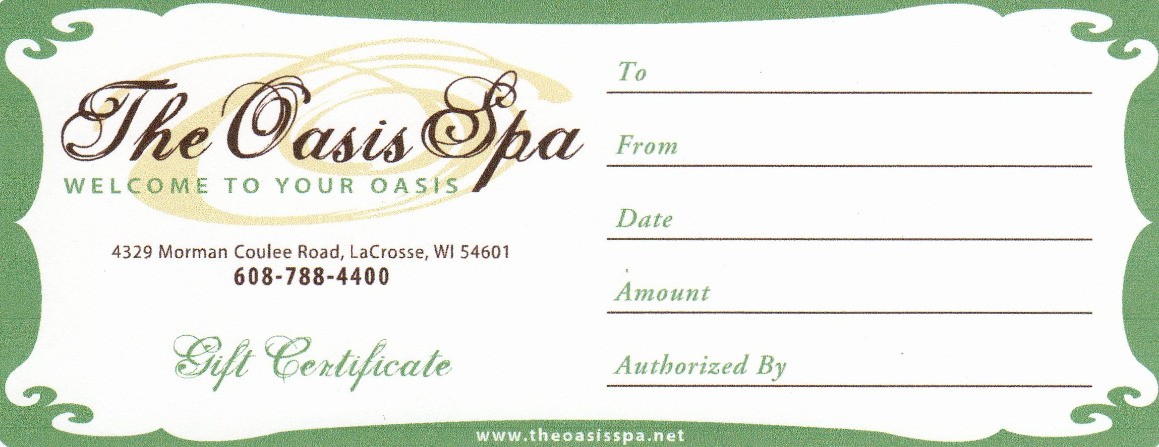 Spa Gift Certificate Template Fresh Certificates Cake Ideas and Designs
