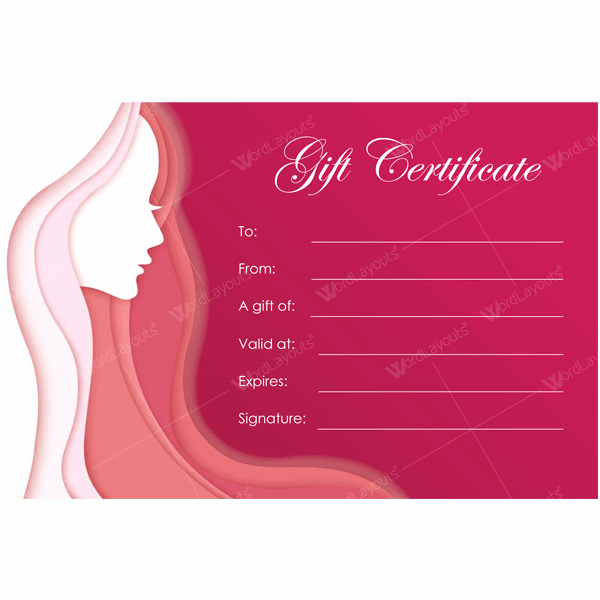 Spa Gift Certificate Template Lovely Bring In Clients with Spa Gift Certificate Templates