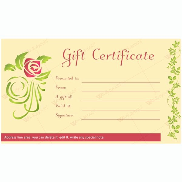 Spa Gift Certificate Template Luxury 12 Best Spa and Saloon Gift Certificate Templates Images