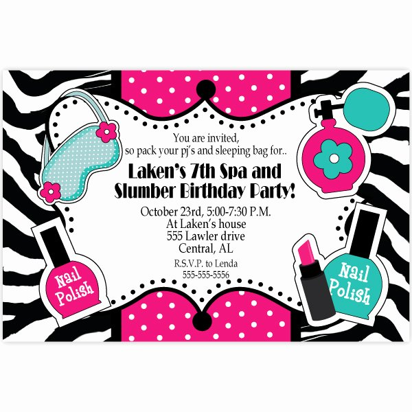 Spa Party Invite Template New Free Printable Unique Birthday Invitations for Adults