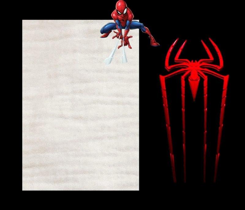 Spiderman Birthday Invitation Template Elegant Spider Man Invitations Cast A Web Of Excitement