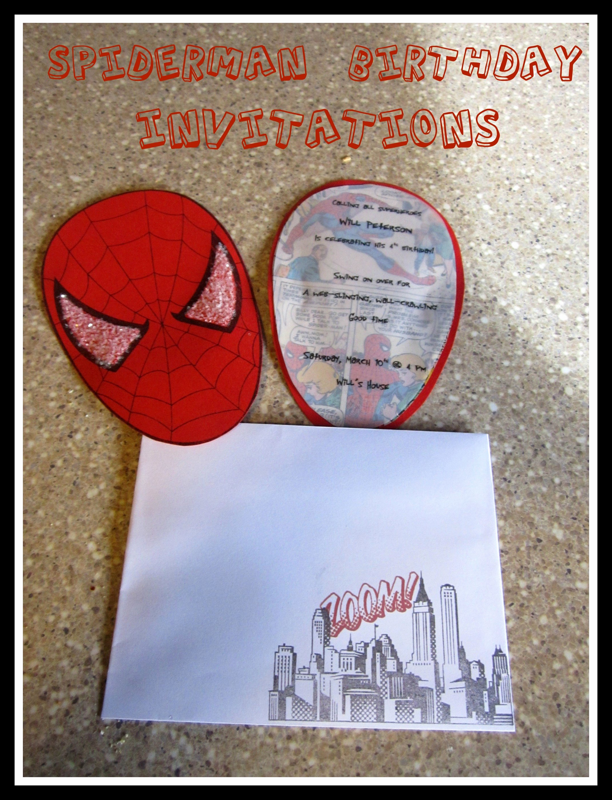Spiderman Birthday Invitation Template Elegant Spiderman Birthday Party Part 1 Invitations