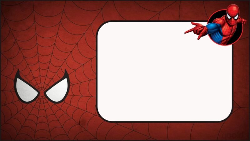 Spiderman Birthday Invitation Template Luxury Free Invitation Templates