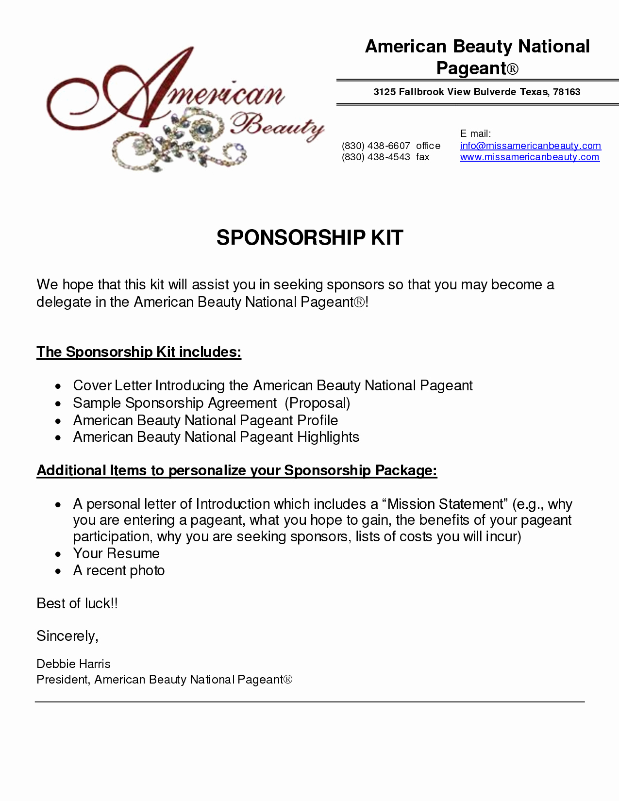 Sponsorship form Template Word Best Of 6 Sponsorship Proposal Templates Excel Pdf formats