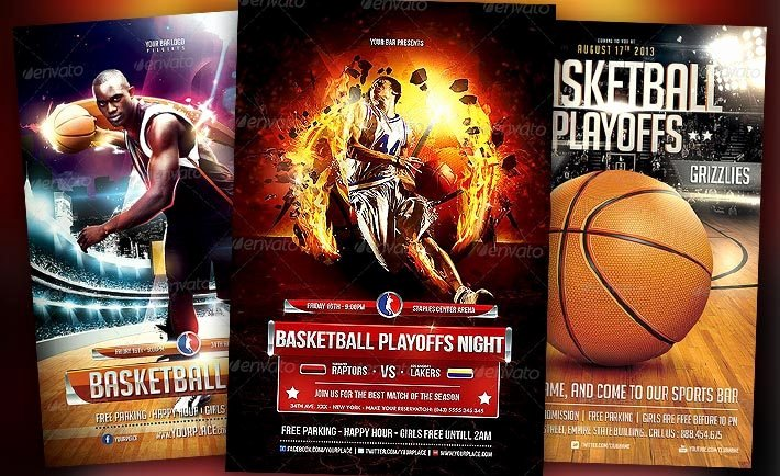 Sports Flyer Template Free Beautiful Best Basketball event Flyer Templates No 1