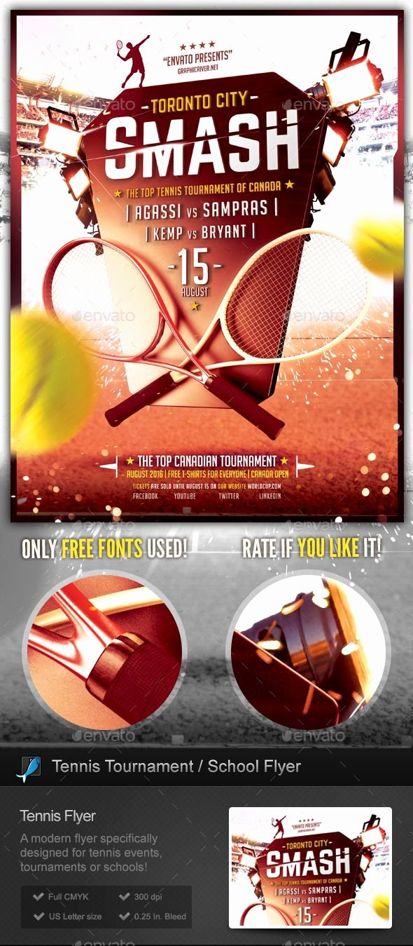 Sports Flyer Template Free Beautiful Download tournament