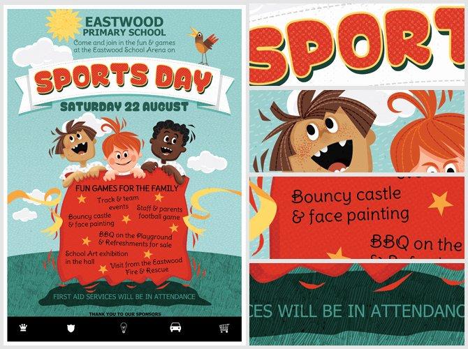 Sports Flyer Template Free Best Of Kid S Sports Day Flyer Template Flyerheroes