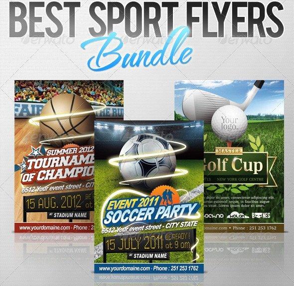 Sports Flyer Template Free Fresh 13 Free Psd Flyer Templates Sports Football