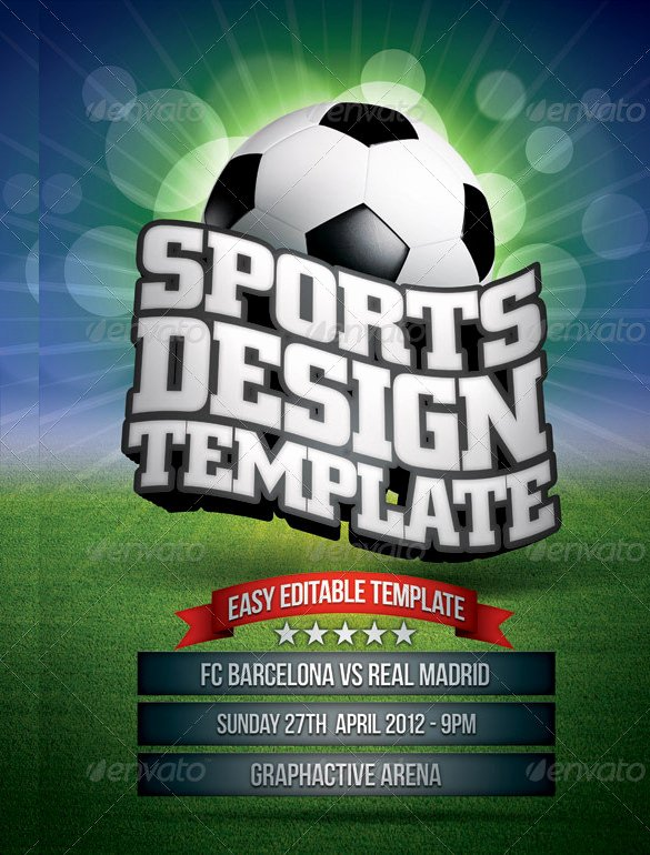 Sports Flyer Template Free Lovely 35 Sports Flyer Templates Psd Docs Ai Publisher
