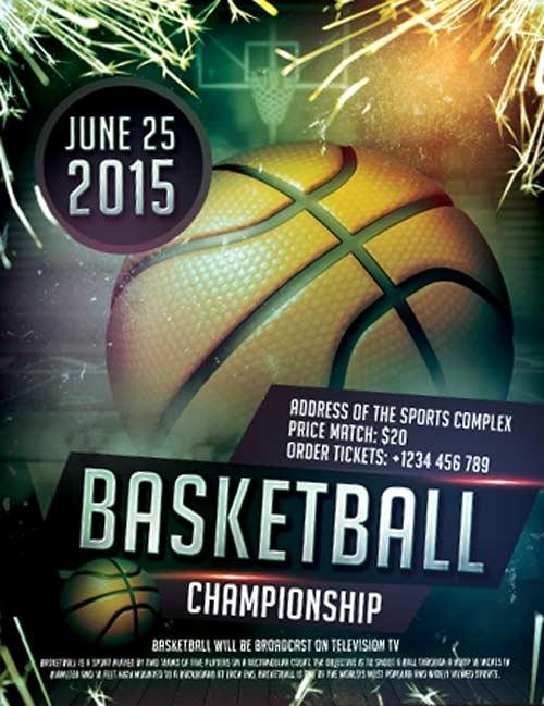 Sports Flyer Template Free New 20 attractive & Free Sports Flyer Templates