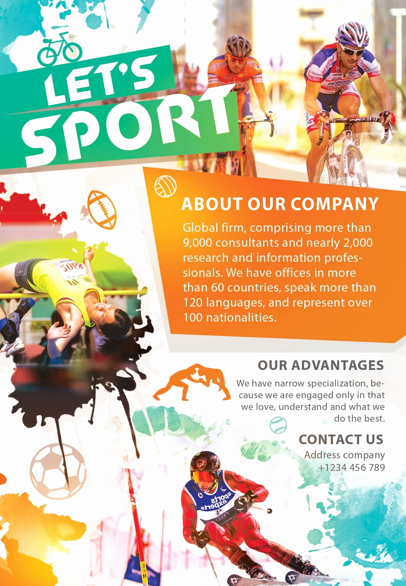 Sports Flyer Template Free Unique Free Sport Party Psd Flyer Template by Styleflyers