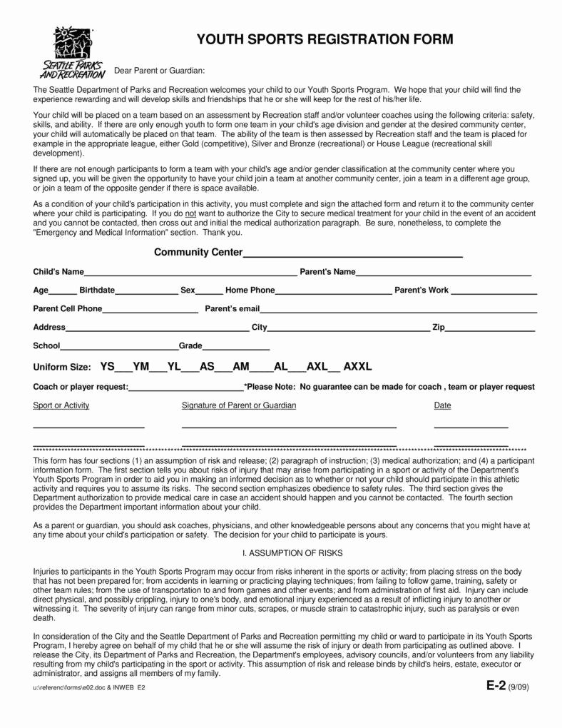 Sports Registration forms Template Elegant 6 Sport Sign Up Sheet Templates Pdf