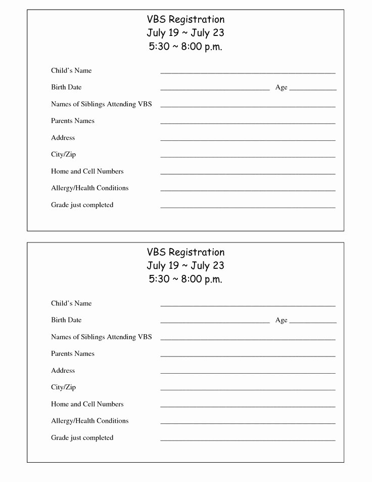 Sports Registration forms Template Fresh Sports Registration form Template Free – Versatolelive