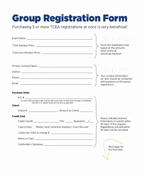Sports Registration forms Template Inspirational event Registration form Plate Word Alluring Sample forms