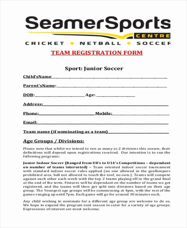 Sports Registration forms Template Lovely Car Club Membership Application form Template Templates