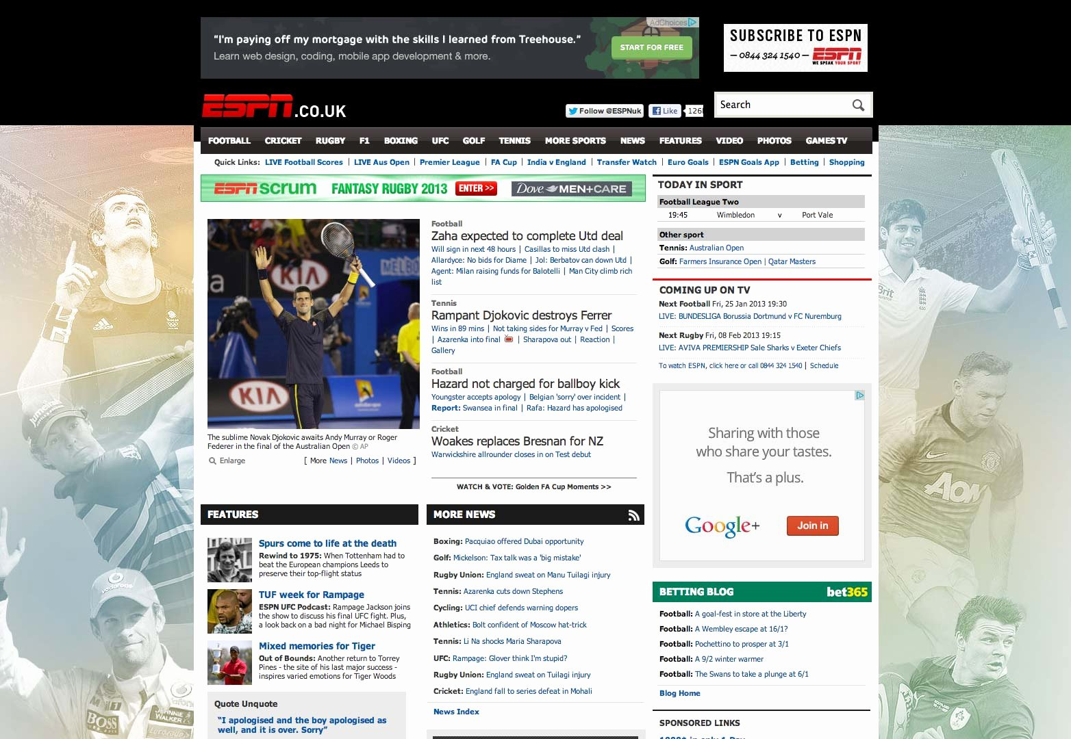 Sports Web Site Template Awesome 30 Successful Sports Websites