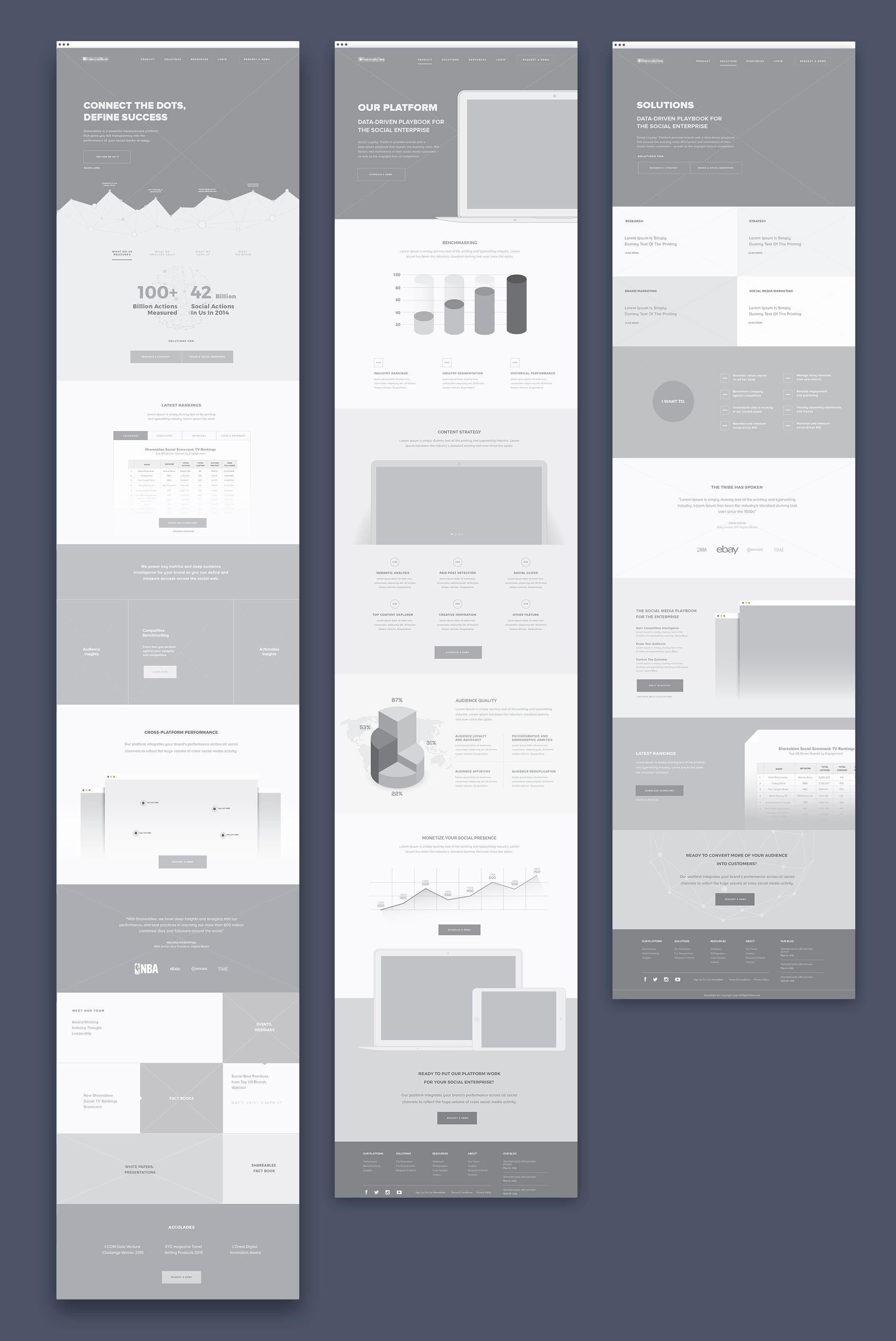 Sports Web Site Template Beautiful Best 25 Website Wireframe Ideas On Pinterest
