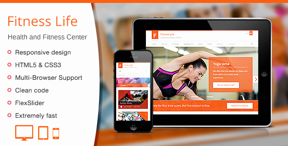 Sports Web Site Template Lovely Fitness Life Gym Fitness HTML Template by Wplook