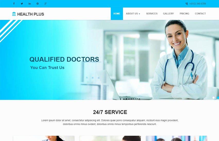 Sports Web Site Template New Latest Free Medical Clinic Website Template Webthemez